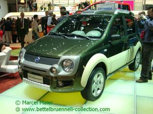 Fiat Panda II SUV Concept 2005 001h