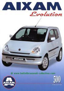 Aixam 500 Evolution 2000-10 Prospekt 001-001h