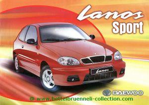 Daewoo Lanos Sport Prospekt 001-001h
