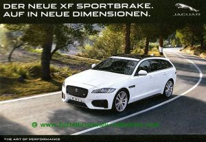 Jaguar XF Sportbrake 2017 Prospekt 001-001h