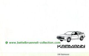 Karmann VW Scirocco II Prospekt 001-001
