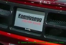 Koenigsegg CCX Custom Vision 2009