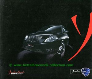 Lancia Ypsilon Sport by Momo Design 2007-06 Prospekt 001-001h