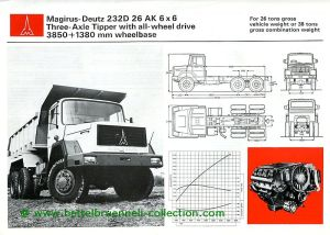 Magirus-Deutz 232 D 26 AK 6x6 Prospekt 001-001h
