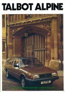 Talbot Alpine 1980-09 Prospekt 001-001h