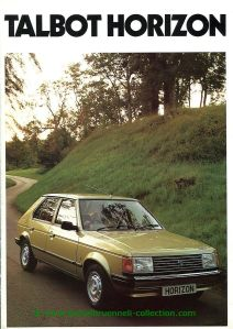 Talbot Horizon 1980-09 Prospekt 001-001h