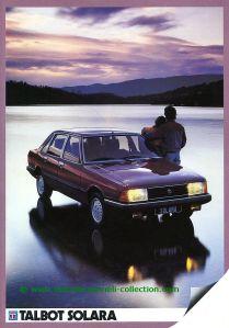 Talbot Solara 1983 Prospekt 001-001h