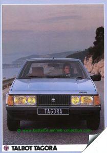 Talbot Tagora 1983 Prospekt 001-001h