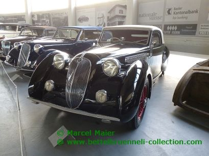 Alfa Romeo 6C 2300 B Cabrilolet Worblaufen 1938
