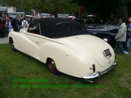 Bentley Mark VI Convertible Worblaufen 1949
