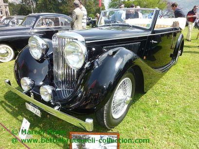 Jaguar Mk IV Cabriolet Worblaufen 1947