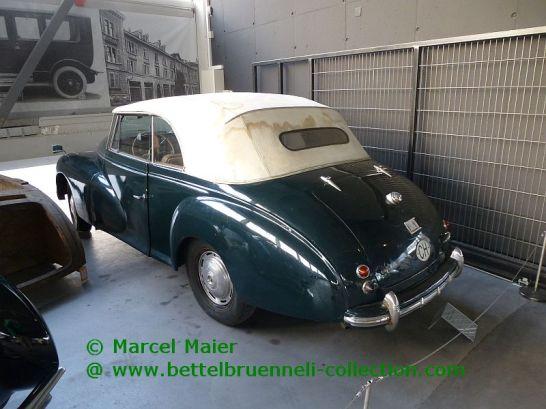 Peugeot 203 Cabriolet Worblaufen 1949