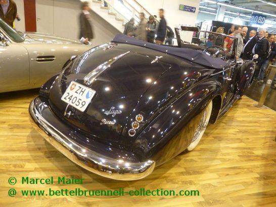 Talbot-Lago T26 Record Cabriolet Worblaufen 1947
