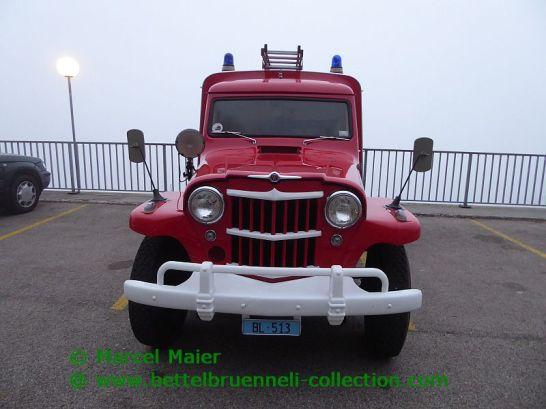 Willys-Overland Truck Feuerwehr Bottmingen 1962 Wenger