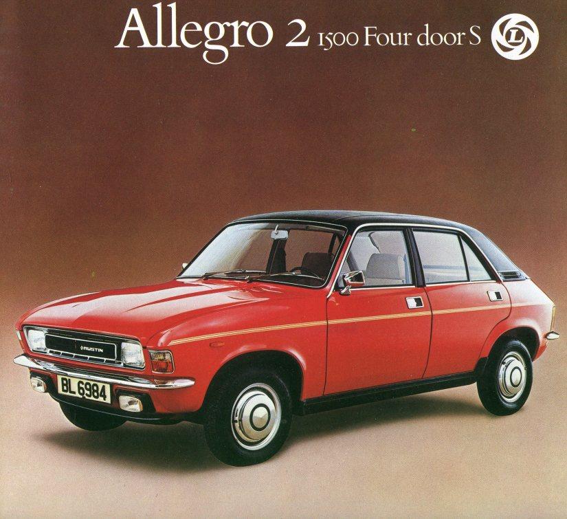 Austin Allegro 1500 4 door Special 1976-09 Faltprospekt 001-001