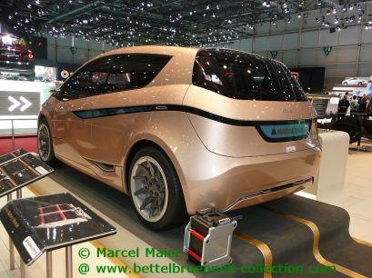 Magna Steyr Mila EV Concept 2009