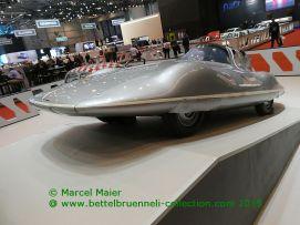 Abarth 600 Record Bertone 1956